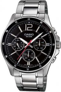 Casio Enticer Black Dial Men's Watch - A832/A1645