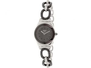 Swatch Women's YSS293G Analog Display Quartz Two Tone Watch