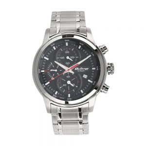 Titan Octane Chronograph Black Dial Men's Watch-90086SM01