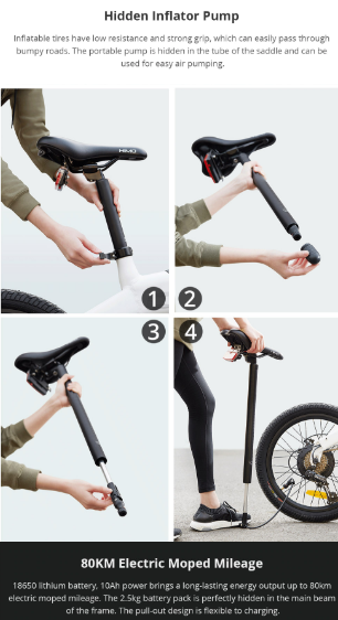 Xiaomi-Himo-C20-concealed-bicycle-tire-pump
