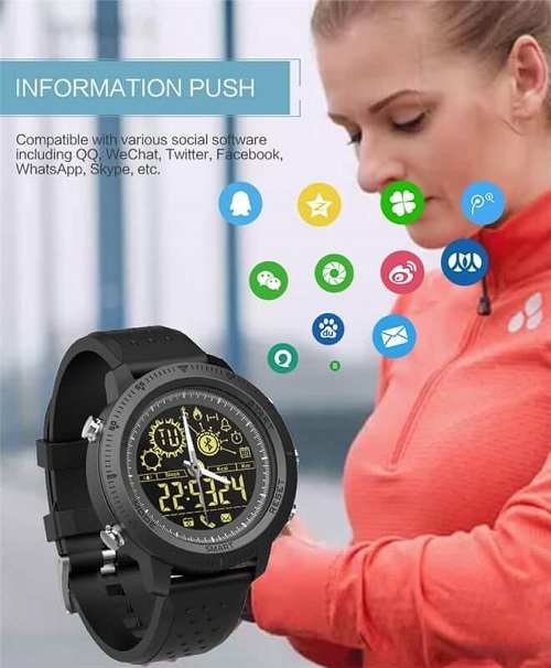 Tac25 Smart Watch 4