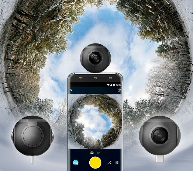 Android 360 Camera Features