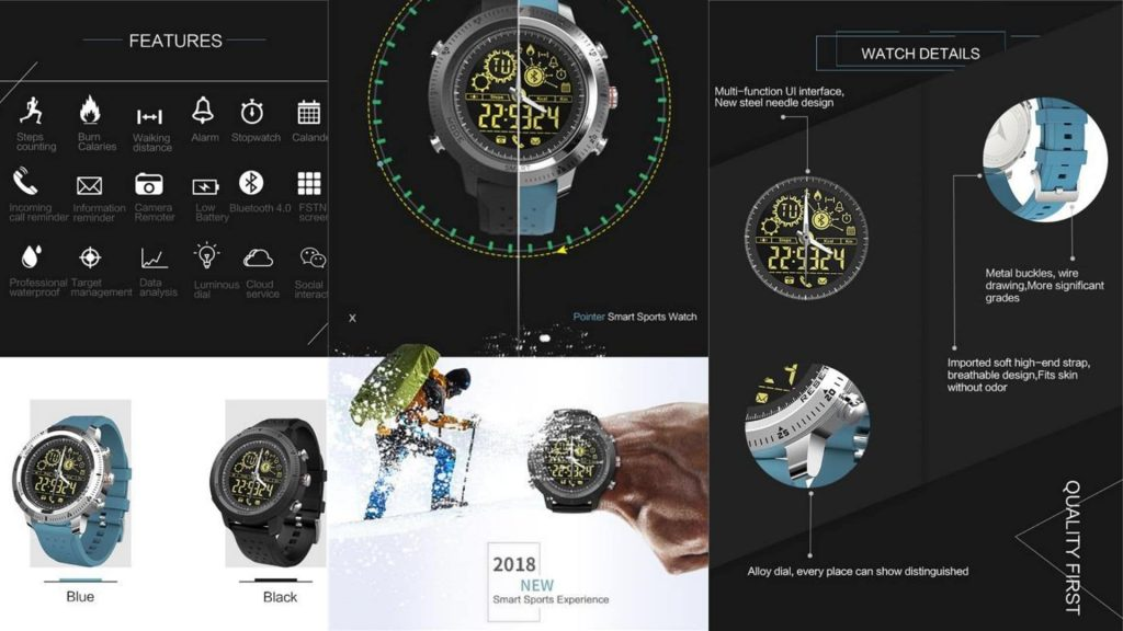 T-Watch Key Features