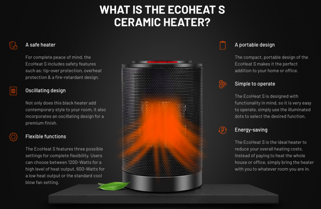 What Features Make EcoHeat S So Great